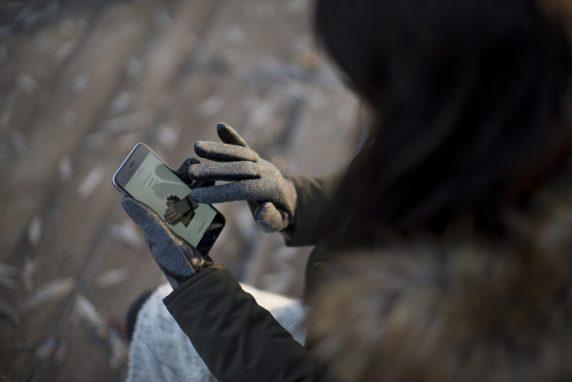 Niezawodne rękawiczki do ekranów dotykowych ze skóry