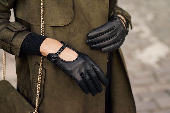 Rękawiczki damskie na jesienne i zimowe dni