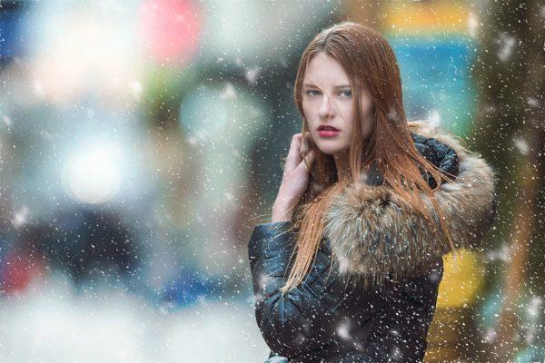 Płaszcz damski na zimę