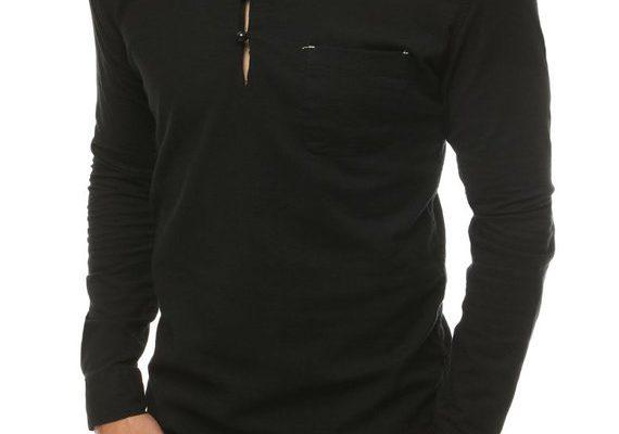 Czarne koszule męskie a elegancki wygląd
