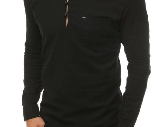 czarna koszula męska - elegancka i gustowna